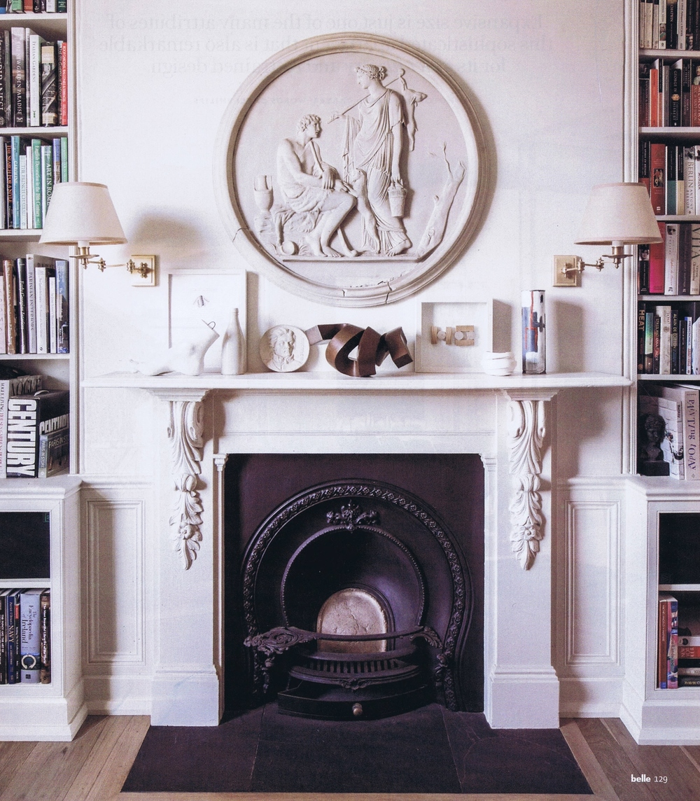 "Clement Meadmore's ""Stormy Weather"". Bronze, 18cm. Looking absolutely absolutely perfect here; Belle magazine oct/nov 2013, in the home of Ronan Sulich & Margaret Nolan."