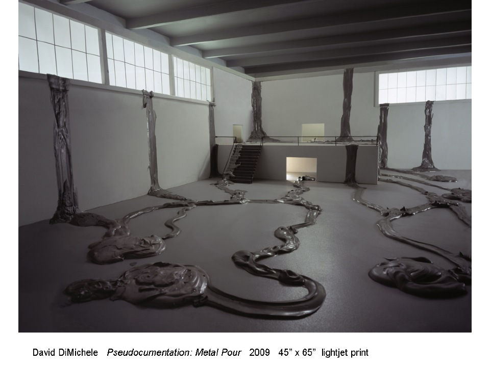 DavidDiMichele. Pseudodocumentation, Metal Pour.2009.jpg