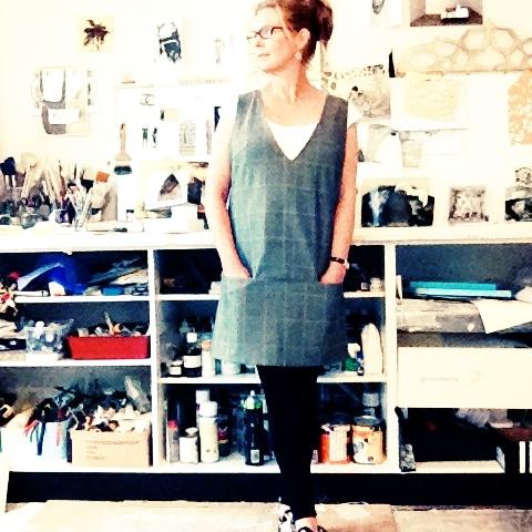 "Burda Magazine 09/2012 #105 ""A line jumper"" (Pinafore to everyone else.)"
