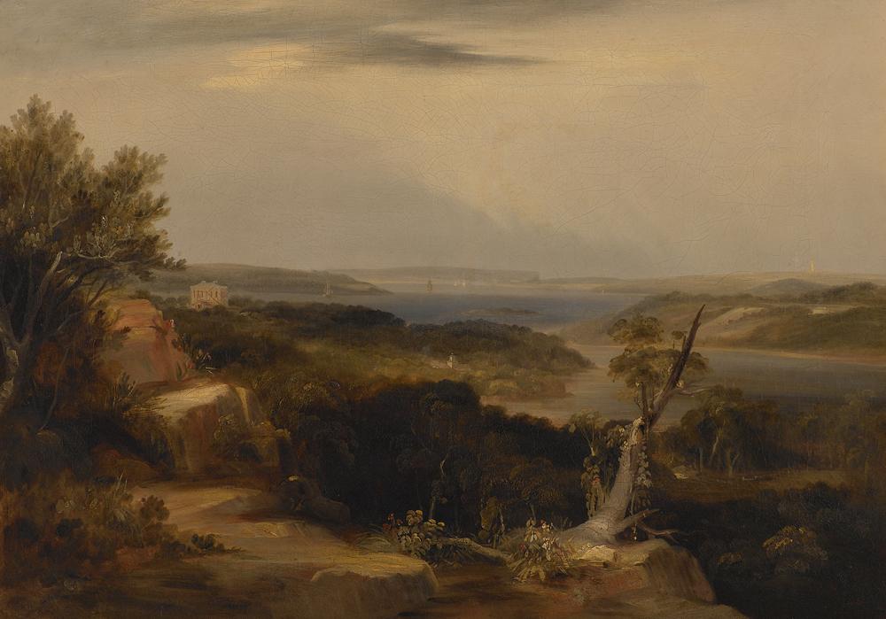Conrad Martens - View from Craigend 1840