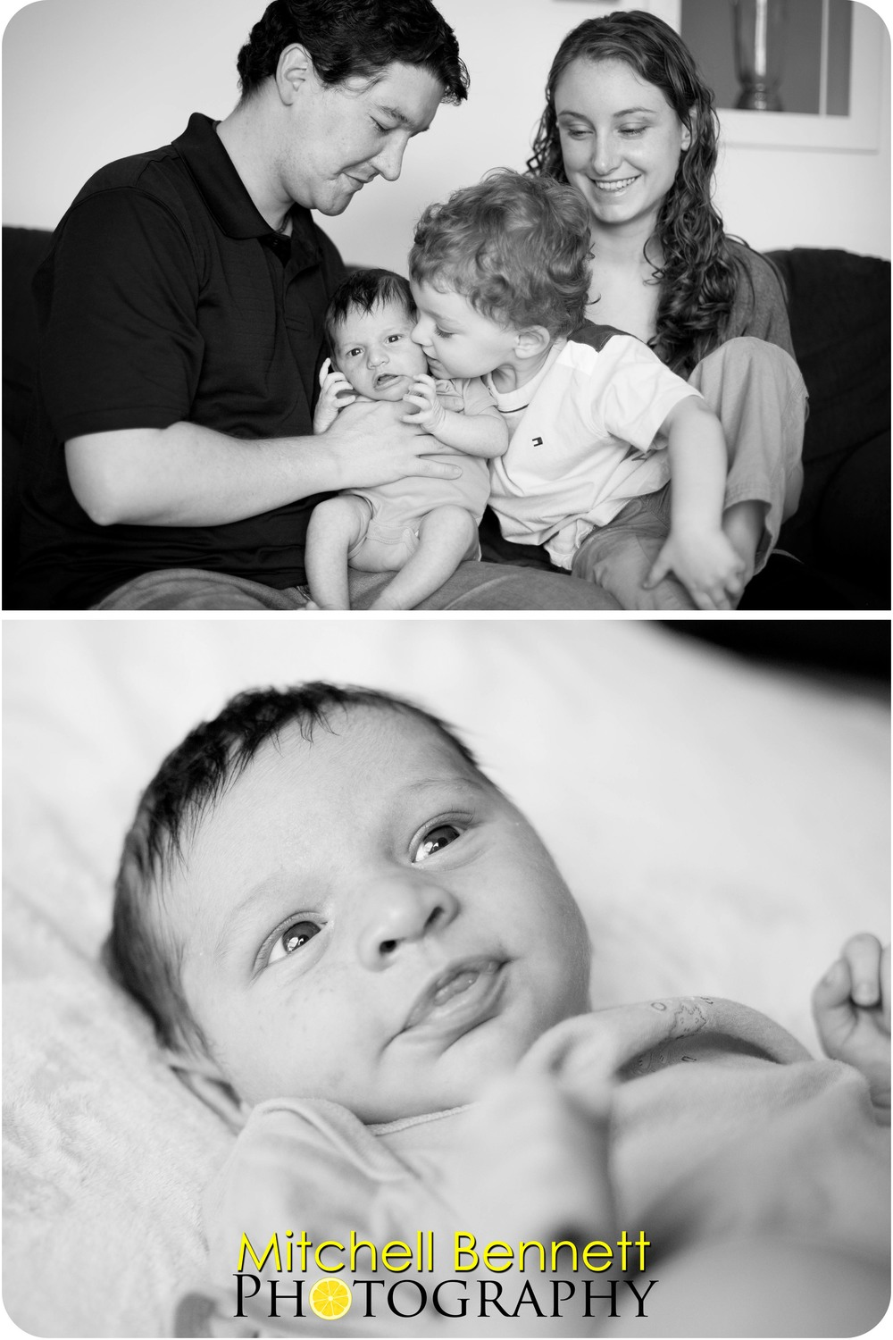 Lucas is a sweet big brother. Julian is as cute as he can be!