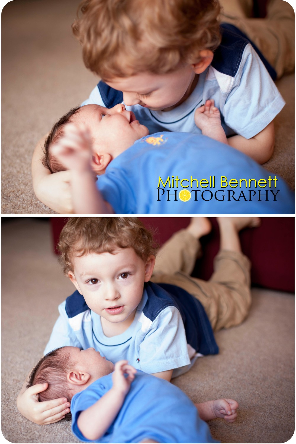 It was fun watching them interact. Julian was facinated by his big brother.