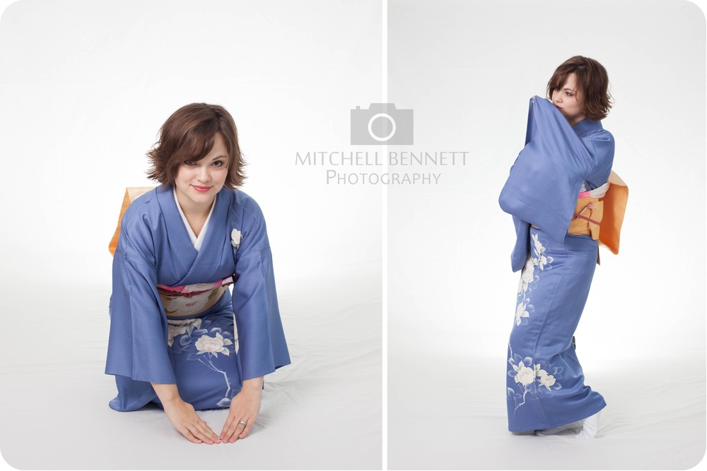 Meredith owns several authentic kimono and is well versed in Japanese culture and language.