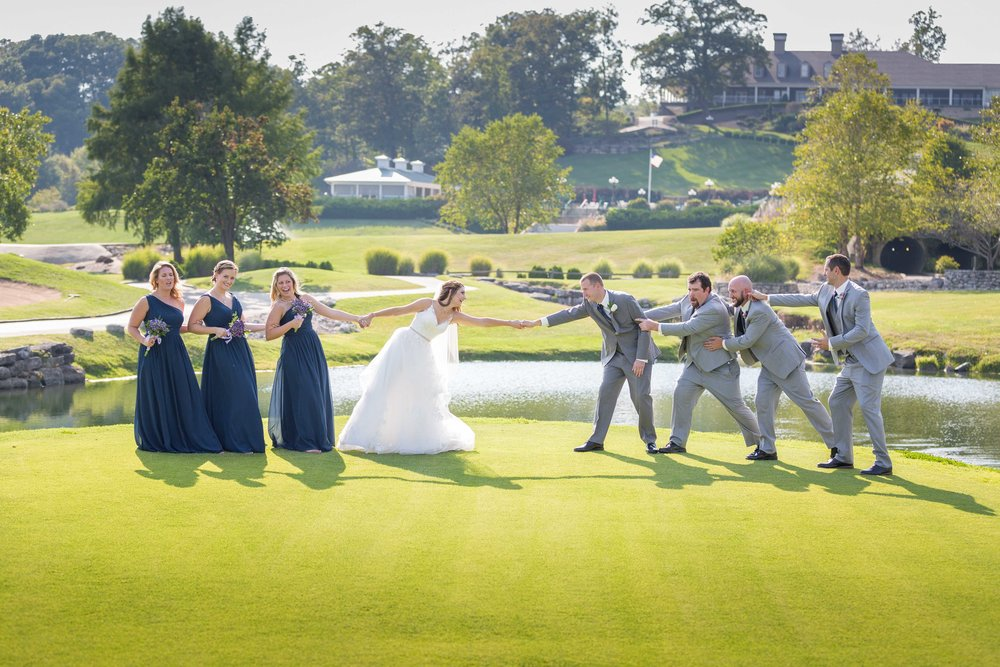 Osage National Golf Resort Wedding Photographer