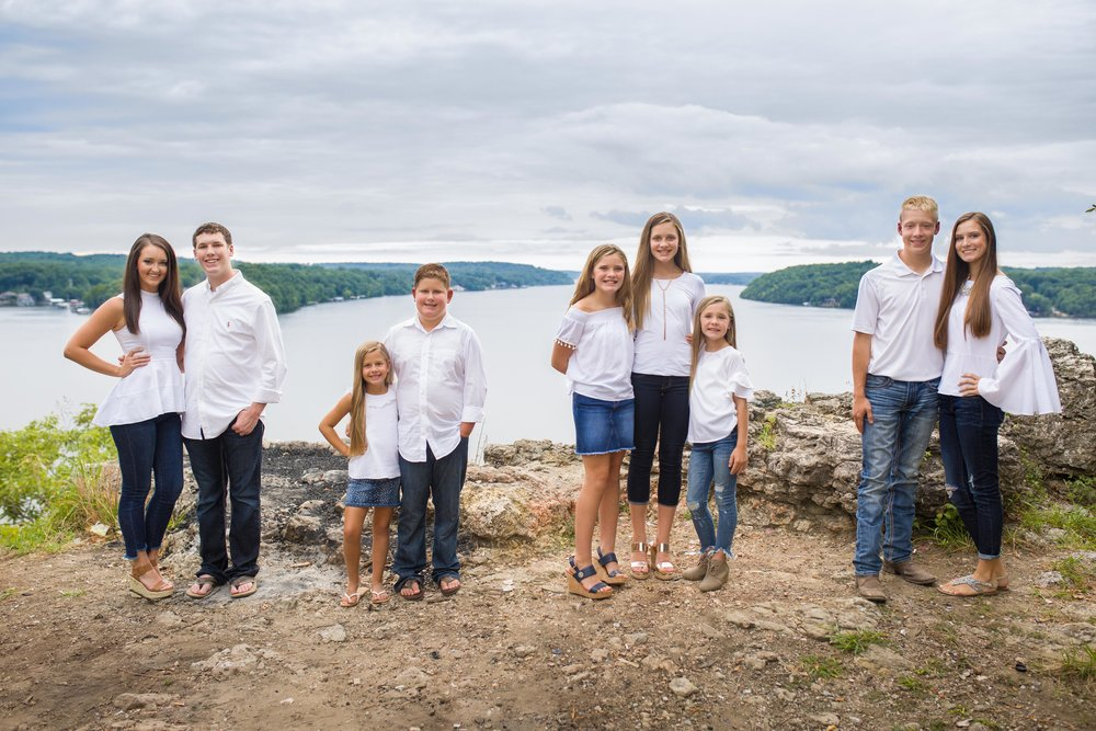 Lake of the Ozarks Family Reunion Photographer
