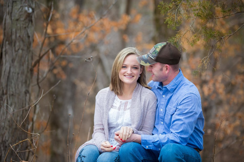 Winter Engagement Photos Mid-Missouri