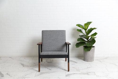 Haven Lounge Chair Black Walnut