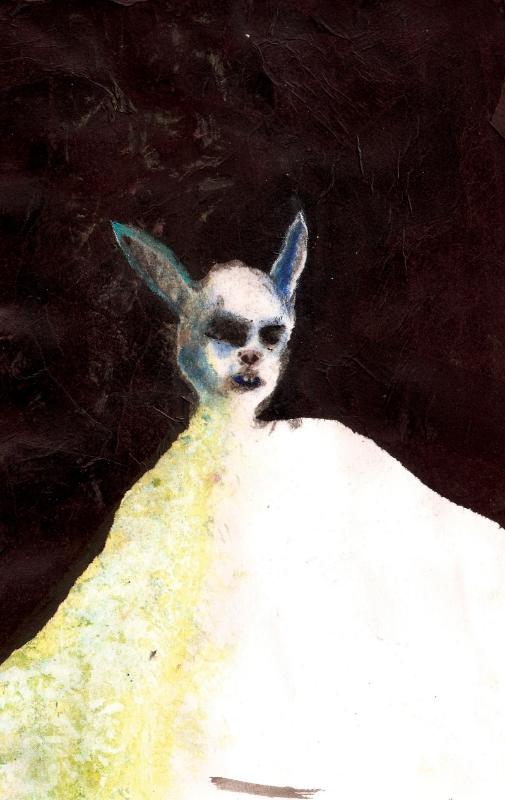 Rabbit Man , 2010, Mixed Media