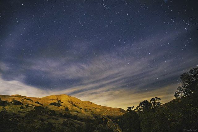 Outerworld.  Stargazing... #California #hoyafilter #nature #longexposure #longexposureoftheday #sanjose #sanjoselife #sanjosehills #alumrock #californialiving #outdoors #mountains #lifewithaview #westcoastexposures #zapincolor #alumrockpark #astrophotography #chasingstars