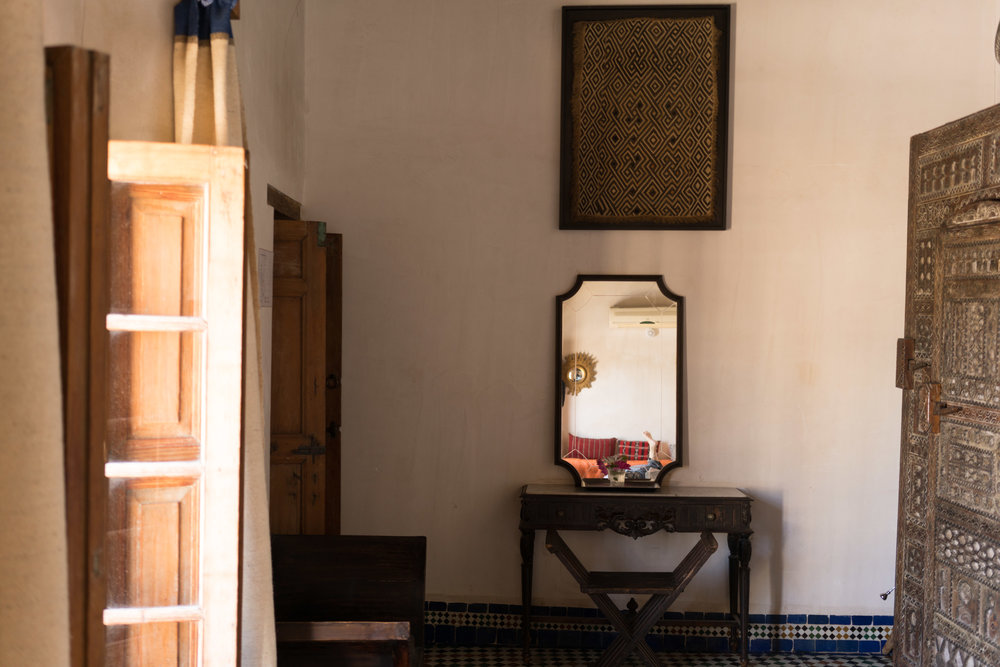 Our room at the Riad