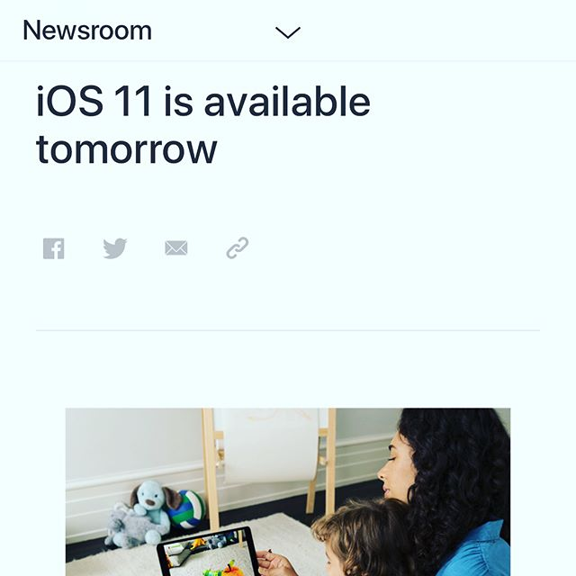 📲 #iOS11 launches 🚀 Tuesday, September, 19th.  We love the new photo features. Not sure how we feel about iPhone 📱 driving restrictions but it likely is a step in the right direction.  #iphonex #iphone8