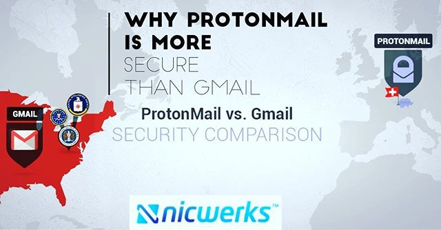 GOT ENCRYPTION? :: We believe that your private communications should be exactly that: private. 🔒  Tired of Google going through your emails? ProtonMail's #encryption means that nobody but you can read the messages in your mailbox. In fact, not even ProtonMail has the ability to read your messages. On the other hand, Gmail can and does read every single one of your emails. 👀 If you are not comfortable giving Google unlimited access to all of your intimate communications, then ProtonMail's approach to data privacy provides more security.  Improved security in the event of a data breach ProtonMail uses Zero Knowledge Encryption, which means it is technically impossible for them to decrypt user messages. Zero Knowledge Encryption applies to all messages in your mailbox, even messages which did not come from other ProtonMail users. This provides stronger security compared to Gmail because even if ProtonMail were somehow breached, user messages remain secure because ProtonMail only stores encrypted messages. In other words, if an attacker steals emails from ProtonMail, the attacker would not have the ability to decrypt them, as even ProtonMail cannot decrypt them. The use of Zero Knowledge Encryption therefore adds a strong layer of resiliency against catastrophic data breaches. Content from: ProtonMail.com/blog October 23, 2017 post