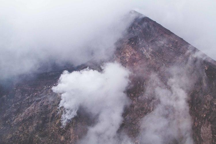 Steamy Volcano