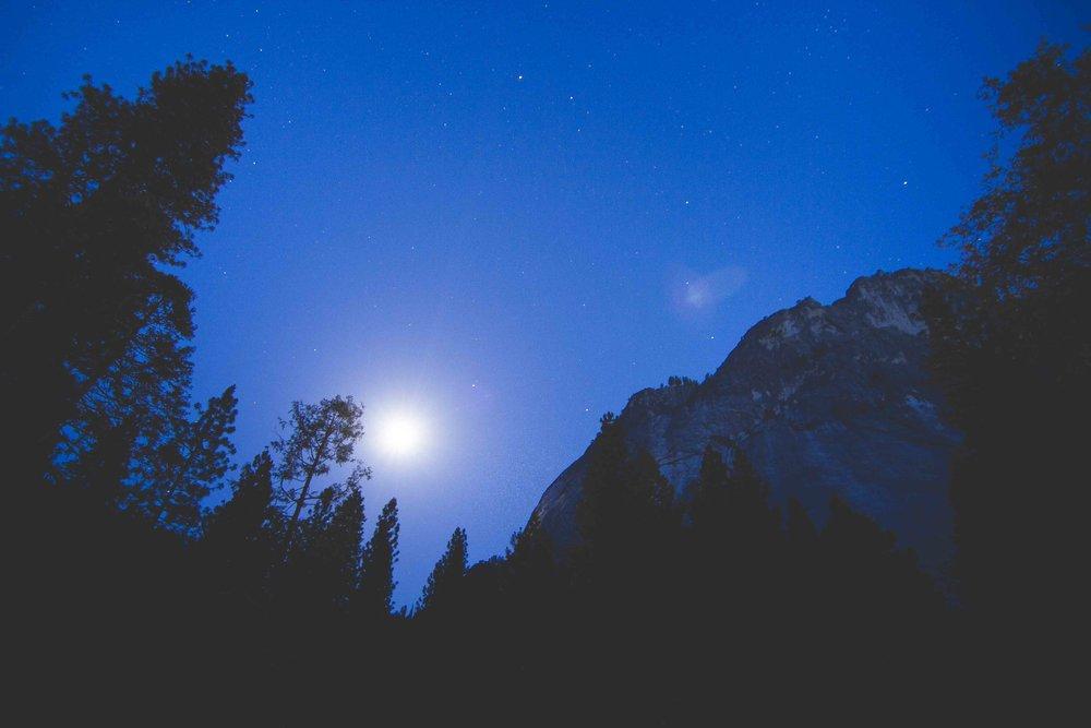Moonlight Yosemite