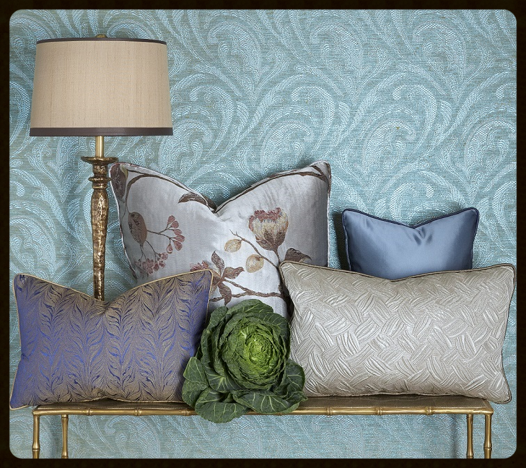 Honour the great outdoors with leafy textures, florals and greenery.