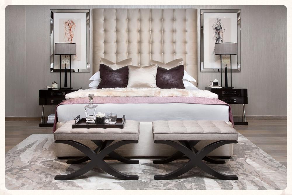 This season's S&C luxury bedroom set