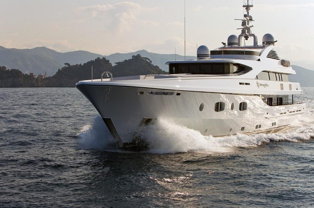 Super motor yacht Turquoise