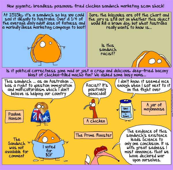 Mayonnaise and capitalism: a cartoon...