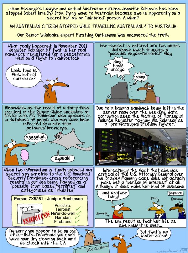 Jennifer Robinson, Hero of Freedom or Marsupialist Stooge?