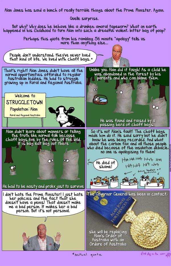 The Alan Jones Story: a black parody