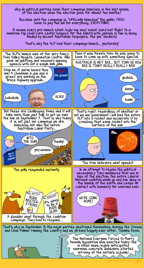 Prime Minister Clive Palmer