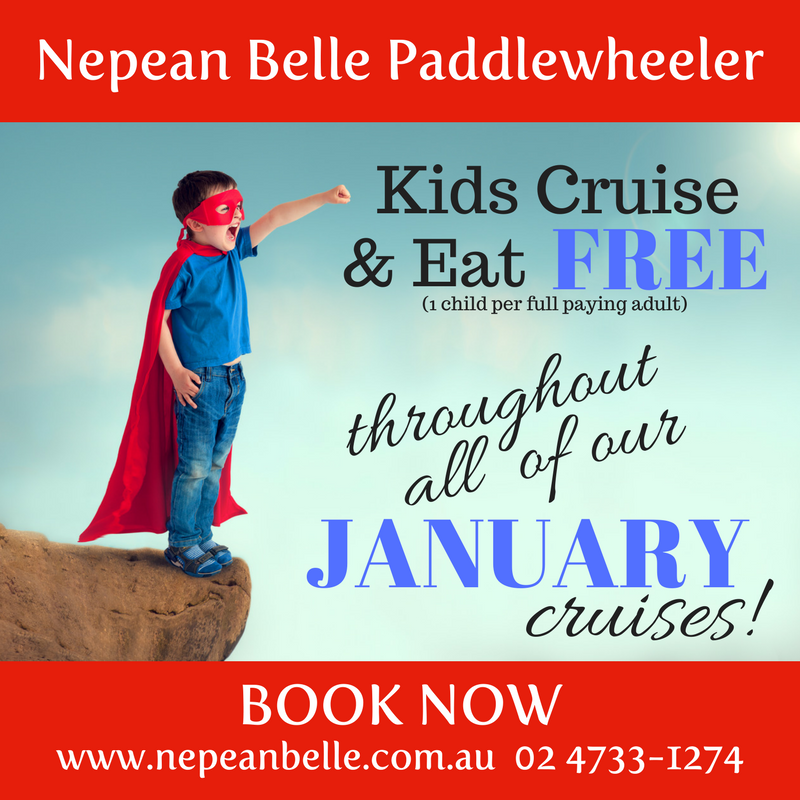 Nepean Belle Kids eat and cruise free January.png