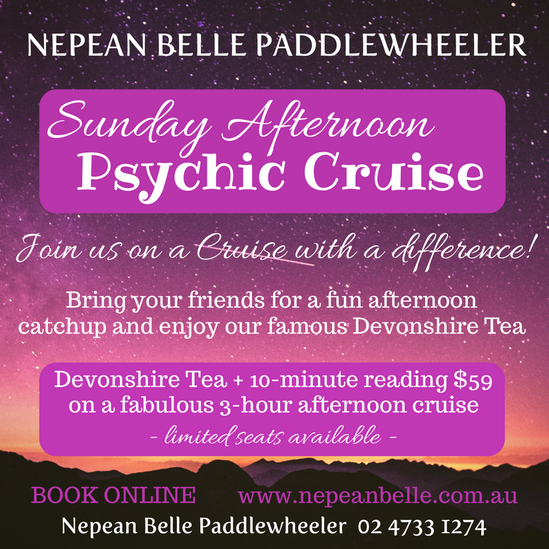 psychic cruise nepean belle nepean river cruise