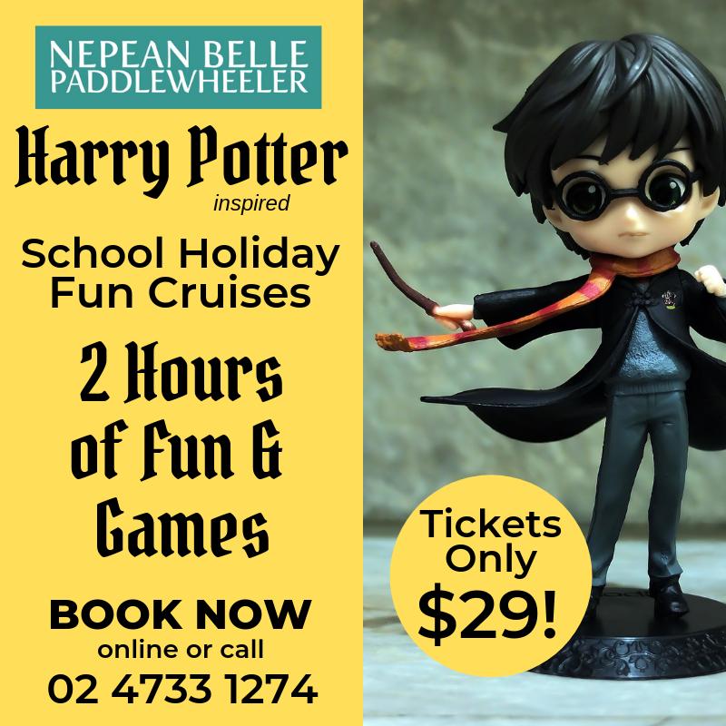Harry Potter school holiday fun cruise