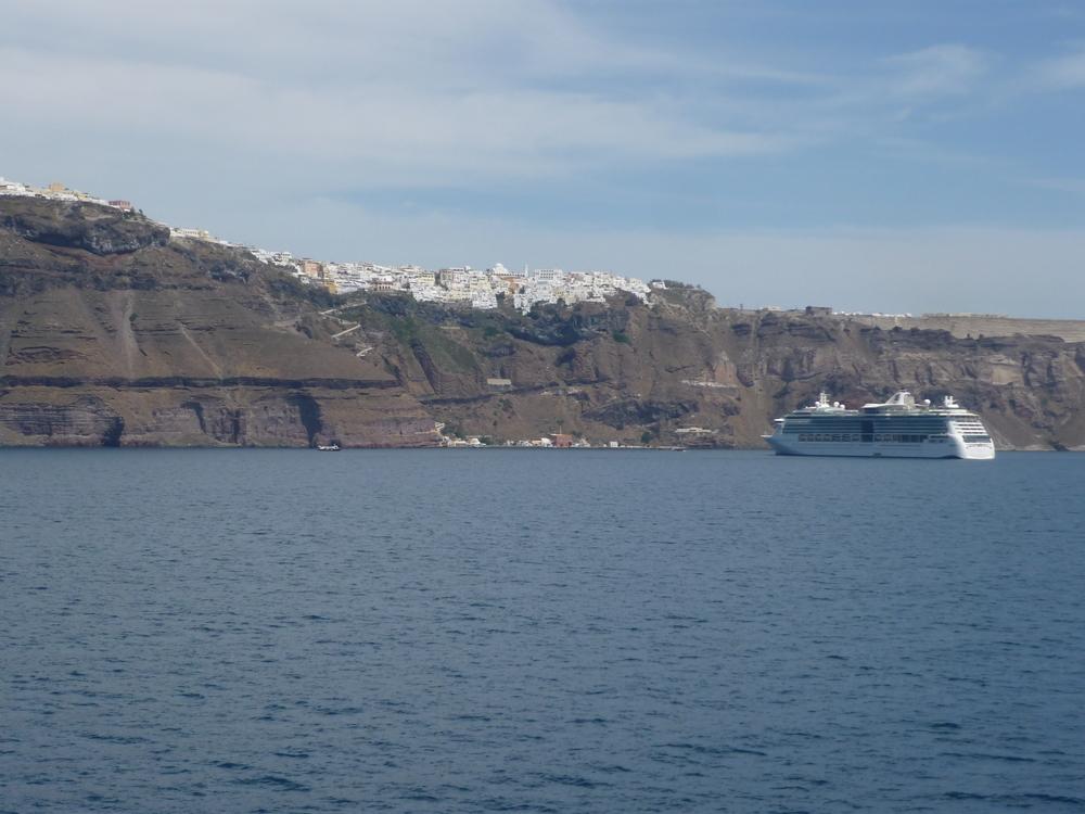 Fahrt nach Santorini
