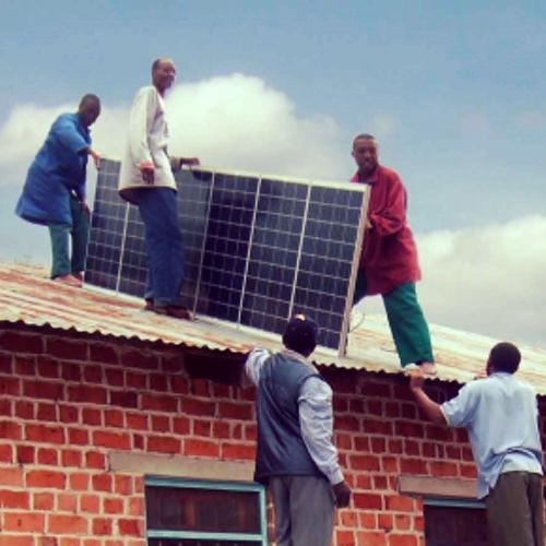 Solar für Syrien Projektgründer:Hassan Mousaf