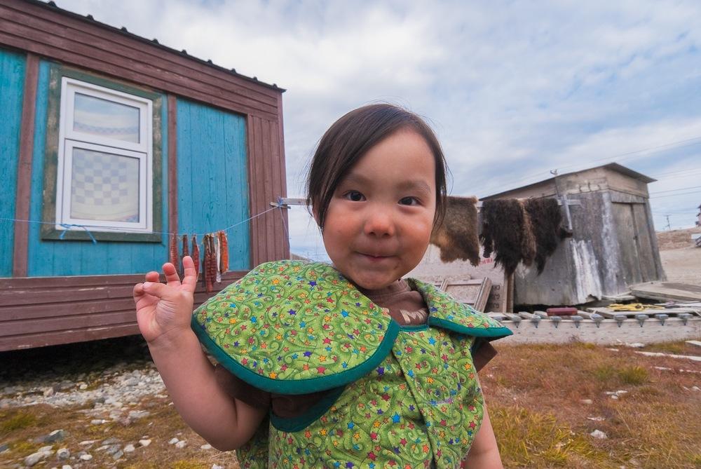 Inuit Girl - Gjoa Haven, Nunavut, Canadian Arctic