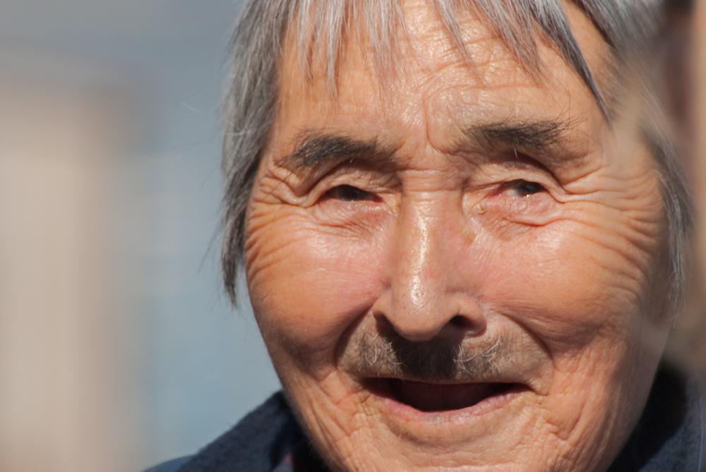 Inuit Elder - Kangiqsujuaq, Nunavik, Canadian Arctic
