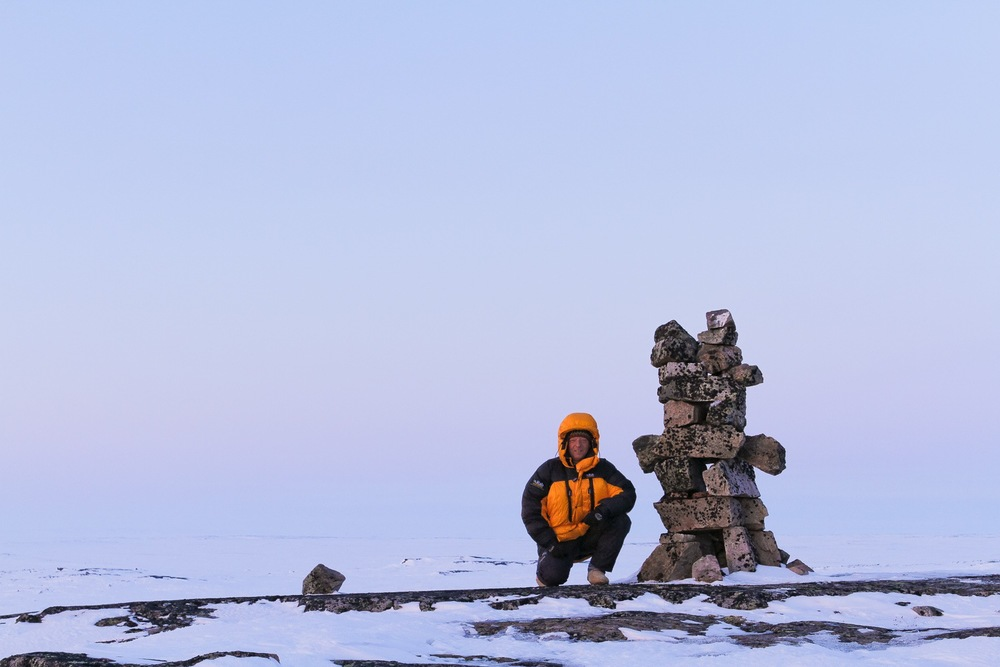 Stephen Gorman on Expedition in Nunavik, Canadian Arctic