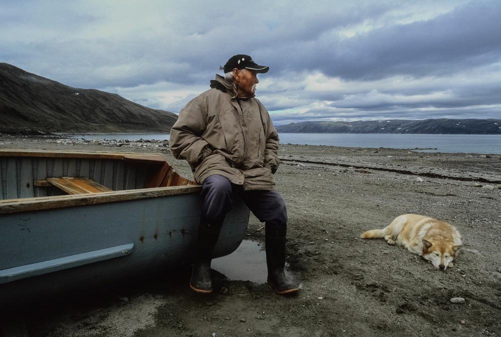 Inuit Elder in Kangiqsujuaq, Nunavik, Canadian Arctic