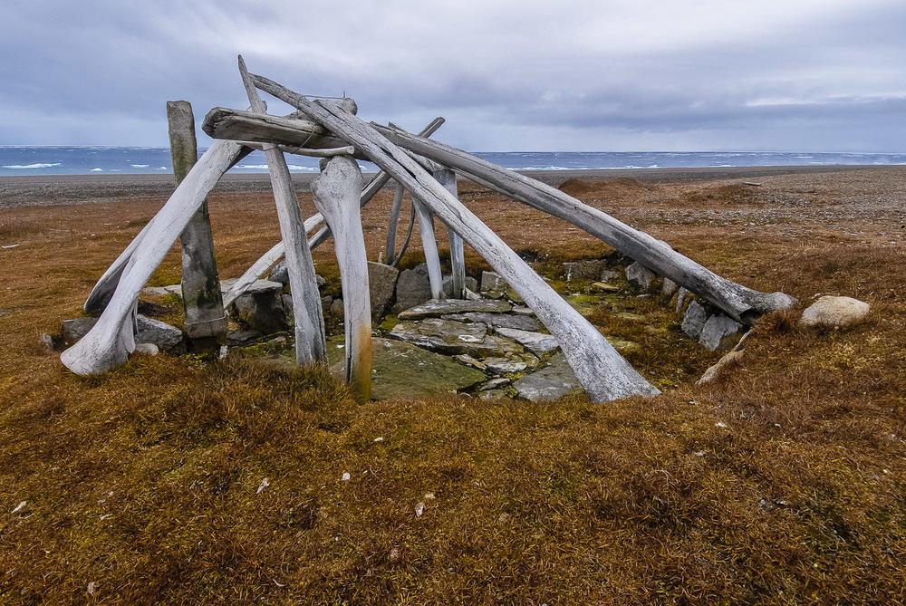 Ancient Thule Whalebone House - Resolute, Nunavut, Canadian Arctic
