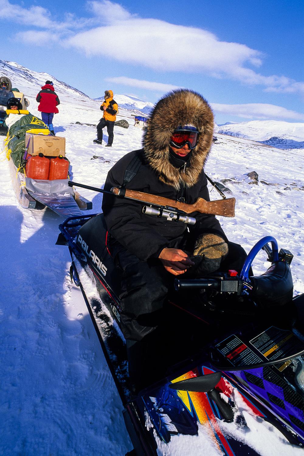 Young Inuit Hunter - Nunavik, Canadian Arctic