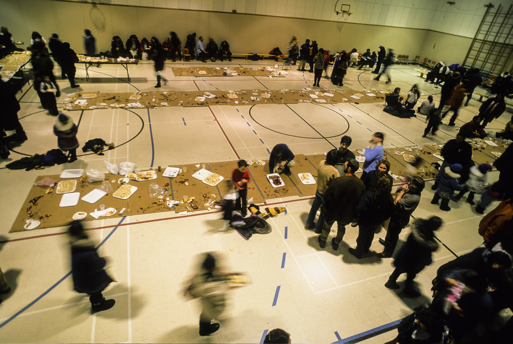 The Community Feast - Kuujjuaq, Nunavik, Canadian Arctic