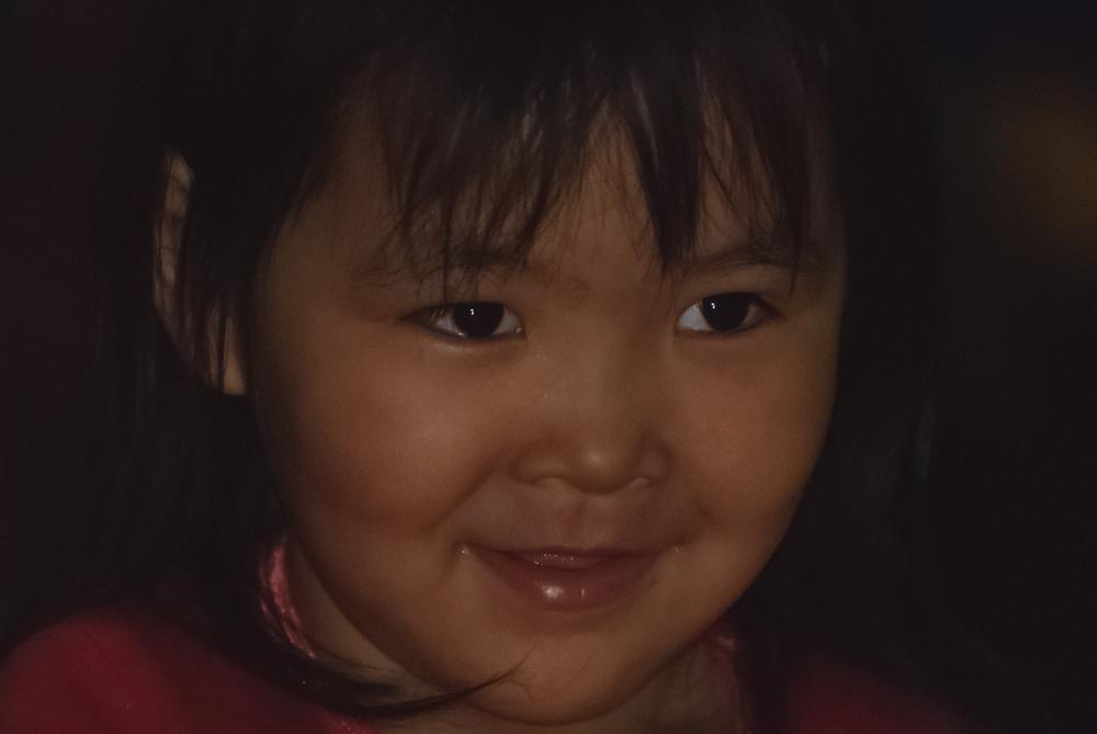 Inuit Girl - Puvirnituq, Nunavik, Canadian Arctic