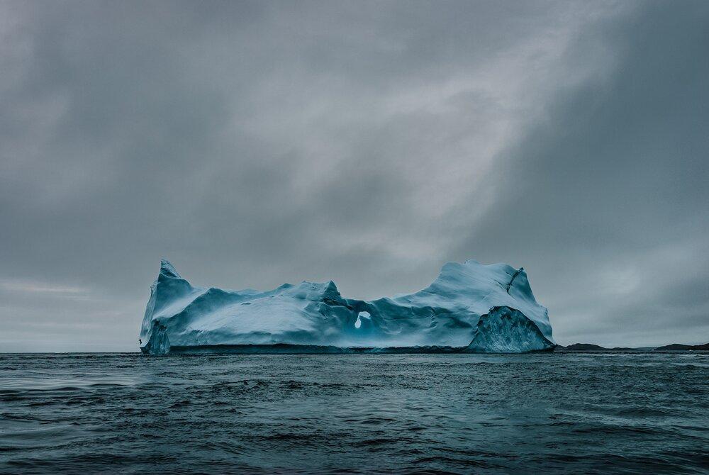Iceberg Off the Meta Incognita Peninsula - Nunavut, Canadian Arctic