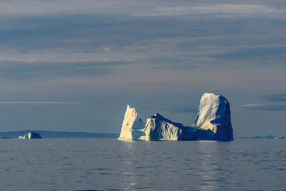 Iceberg in Calm Seas