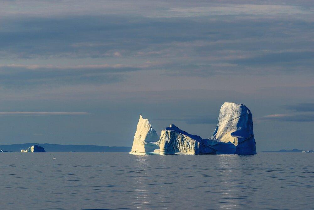 Iceberg in Calm Seas - West Greenland