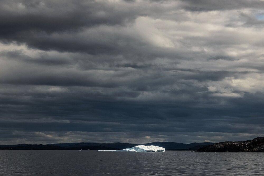 Iceberg and Rocky Points - Labrador Sea, Canada