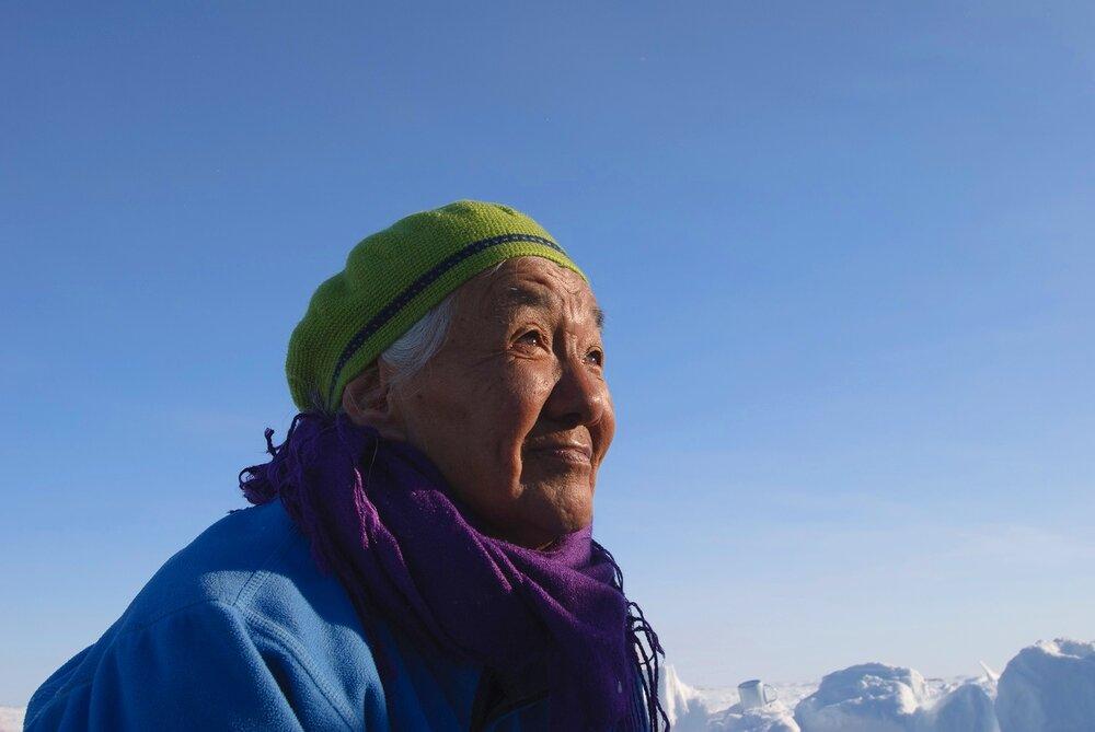 Portrait of an Inuit Elder - Puvirnituq, Nunavik, Canadian Arctic