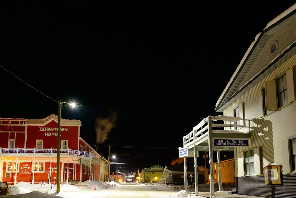 Dawson City at Three in the Morning, Thirty Below Zero