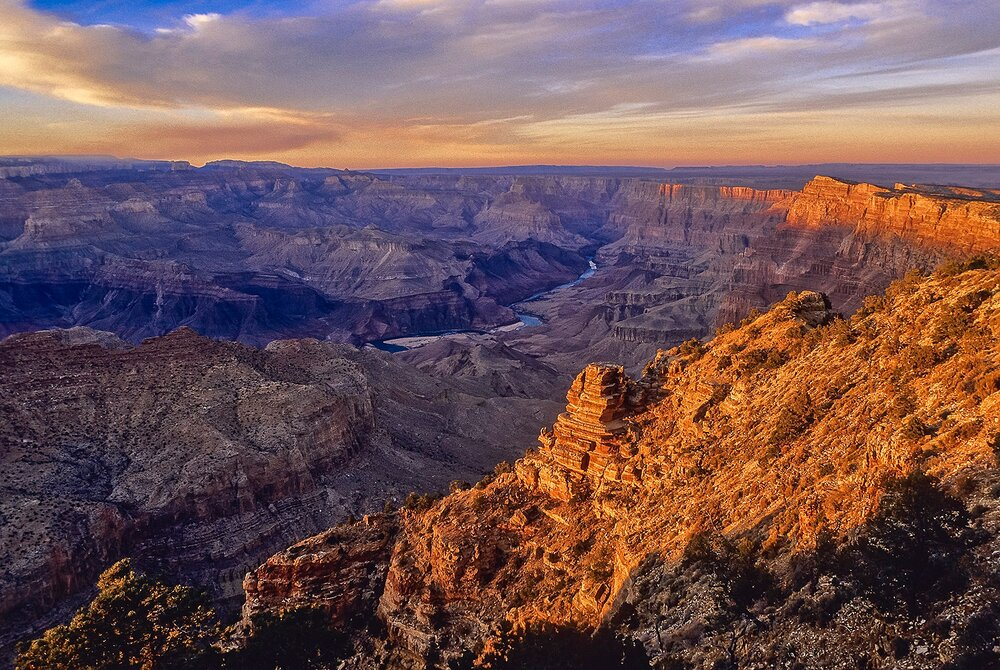 Grand Canyon Sunset - Arizona