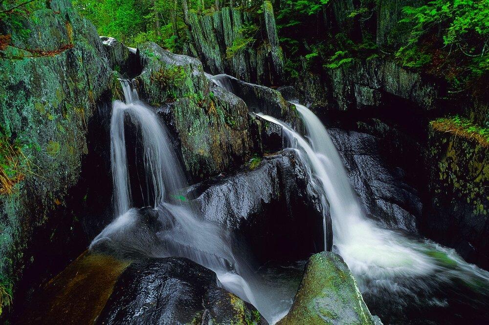 North Woods Waterfall - Maine