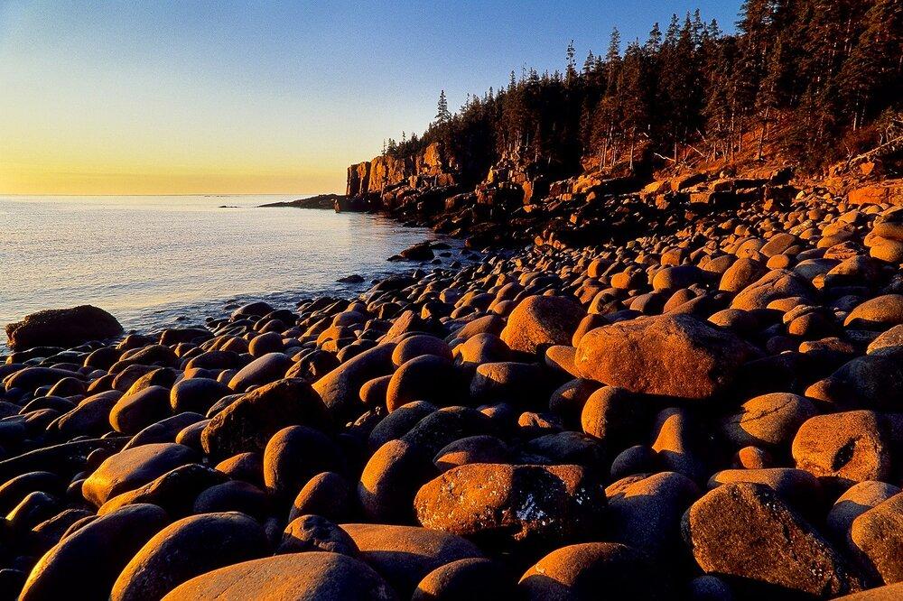 Otter Cliffs at Sunrise - Acadia National Park, Maine
