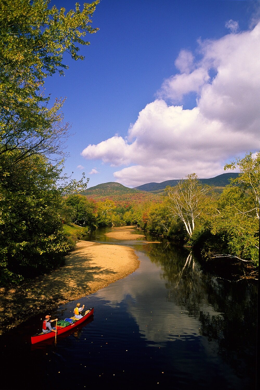 Autumn on the Wild Ammonoosuc River - New Hampshire