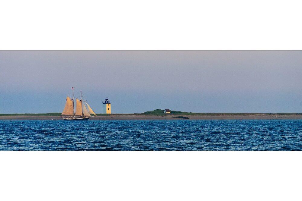 The Age of Sail at Wood End Light - Cape Cod National Seashore, Massachusetts