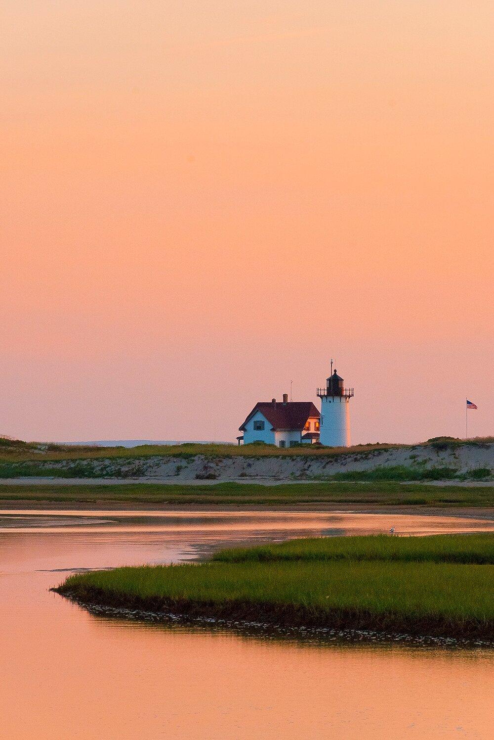 Sunset at Race Point Light II - Cape Cod National Seashore, Massachusetts